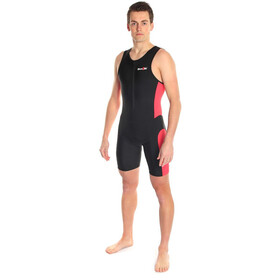 Dare2Tri Frontzip Trisuit Herr black-red